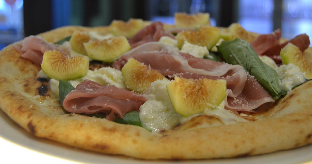 Pizza con fichi
