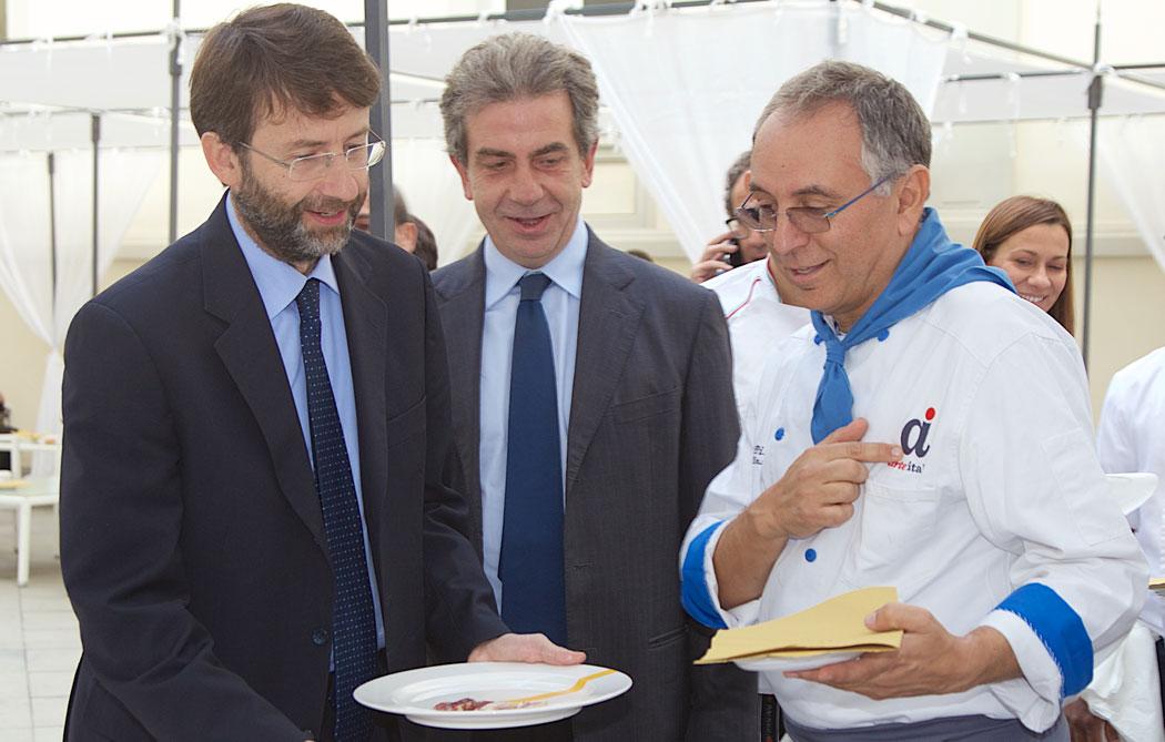 Franceschini e Enzo Coccia al museo Madre