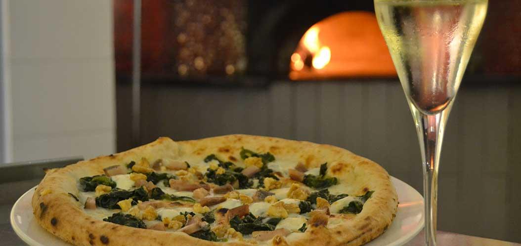 Perrier-Jouet-pizza