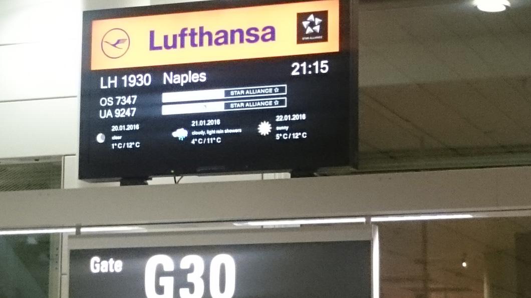 Gate aereporto di Munich