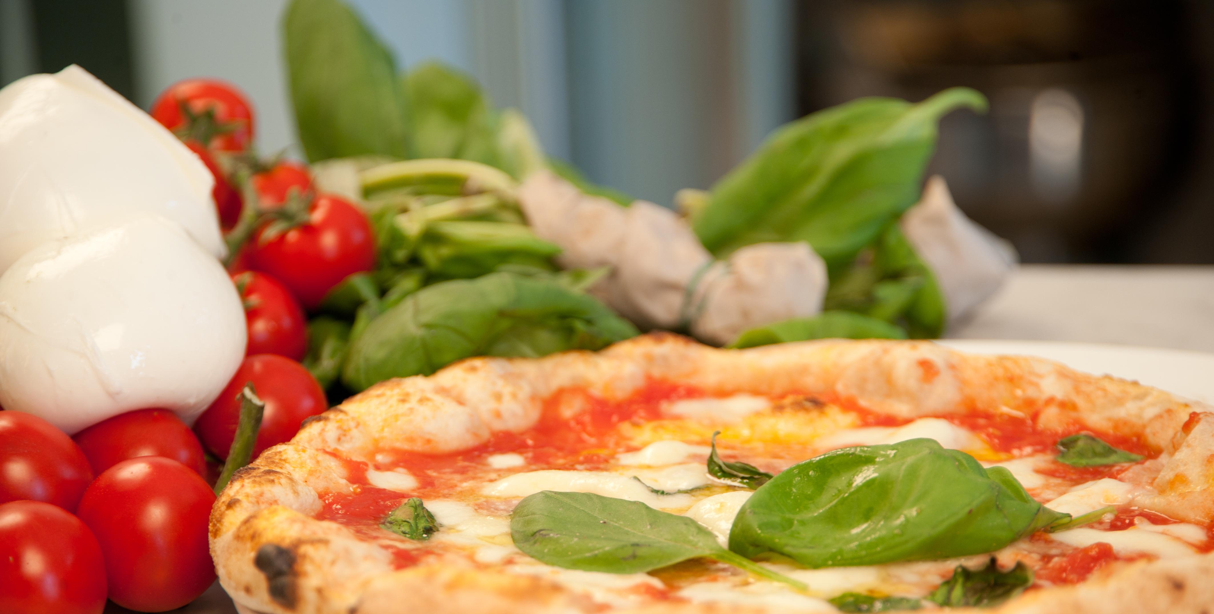 Foto pizza napoletana